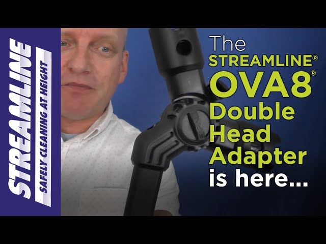 Introducing the STREAMLINE® OVA8® Double Head Adapter