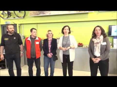 "Hiddenhausen - Bike Arena Benneker - 15. Feb. 2017 - ""Bike-Leasing-Event"" - Video"