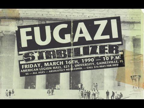 FUGAZI 3/16/1990 AMERICAN LEGION HALL GAINESVILLE, FL