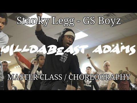 GS Boyz | Stanky Legg | Choreography By WilldaBeast | #immaBEAST | Xtreme Dance Force Master Class