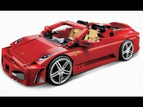 How to Build a LEGO Ferrari Racer in Under 5 minutes! - YouTube