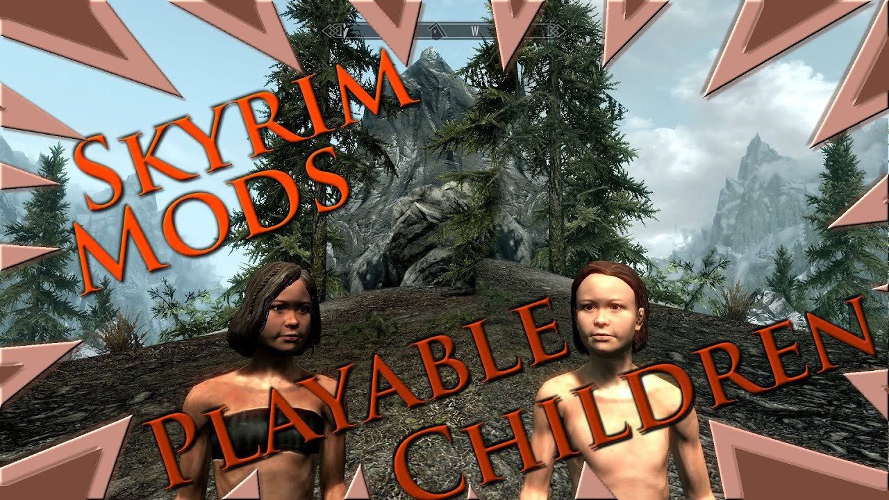 Skyrim Children Mod