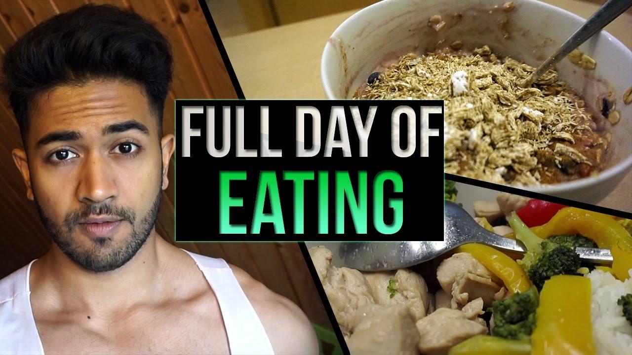 Makanan Anak Gym Full Day Of Eating Versi Diet Youtube