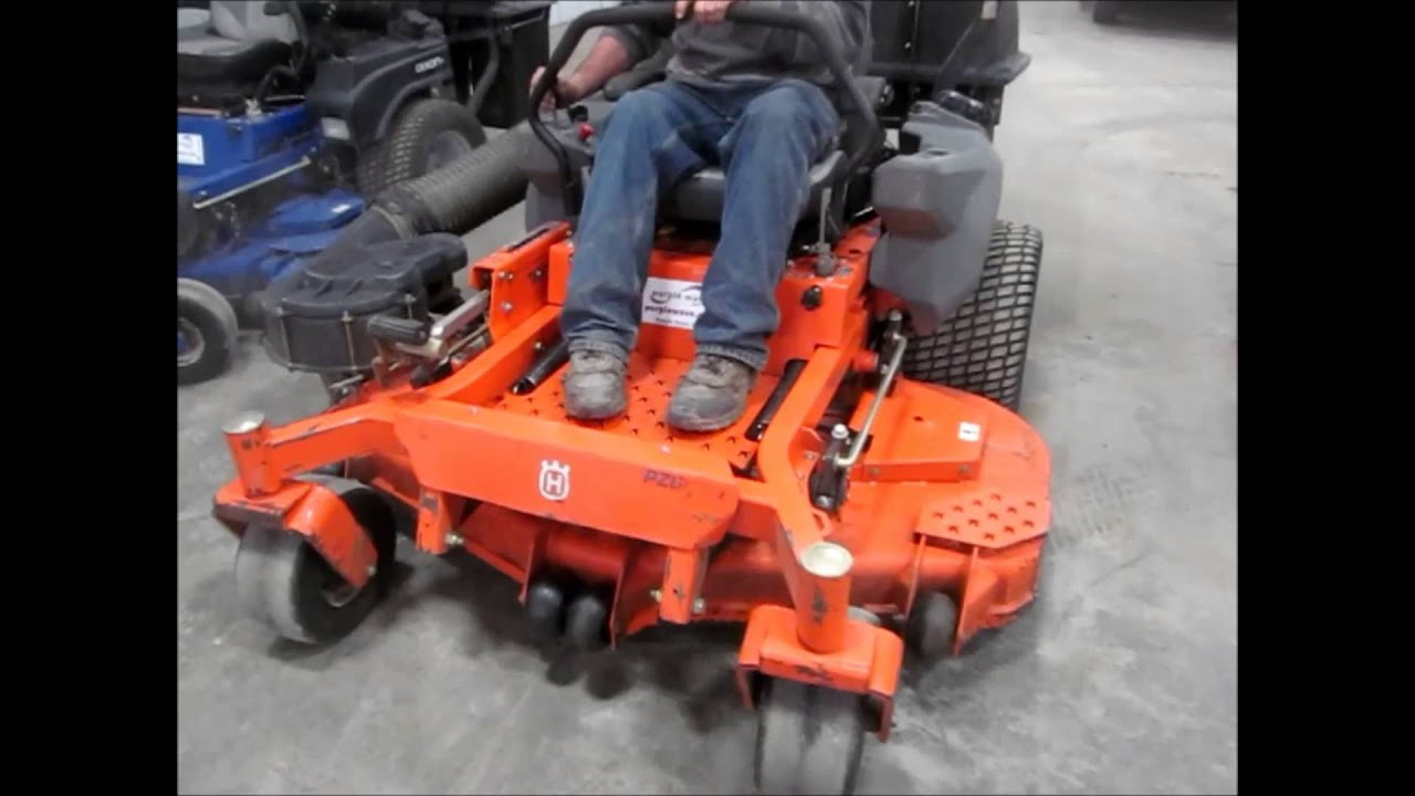 Husqvarna Pz60 Ztr Commercial Lawn Mower Sold