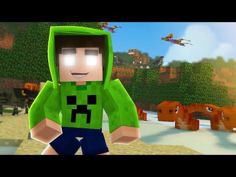 Minecraft: UM PARQUE AQUÁTICO DE DINOSSAURO - ARK CRAFT SURVIVAL # 36