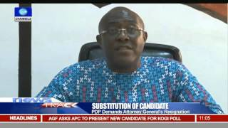 Substitution Of Candidate: PDP Demands Attorney General