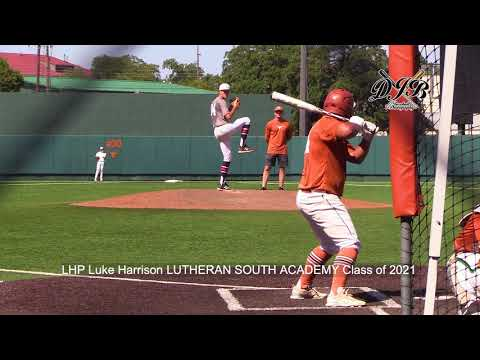 LHP Luke Harrison LUTHERAN SOUTH ACADEMY Class of 2021