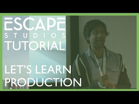 Let's Learn Production! VFX Festival workshop with Hasraf Dulull