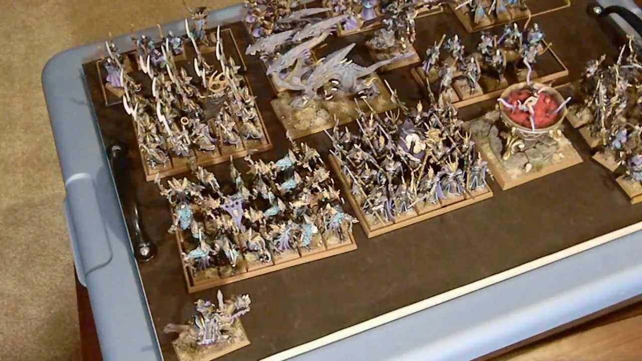 How To Store Amp Transport Your Miniatures Army Youtube
