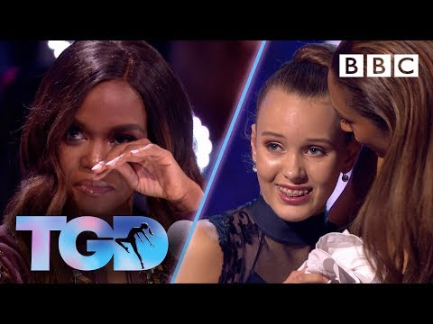 Oti reduced to tears by dancer Ellie's emotional performance - The Greatest Dancer | Auditions