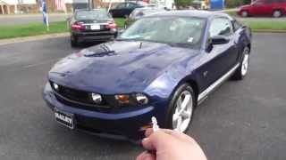 2010 Ford Mustang GT Premium 4.6 Walkaround, Start up, Exhaust, Tour and Overview