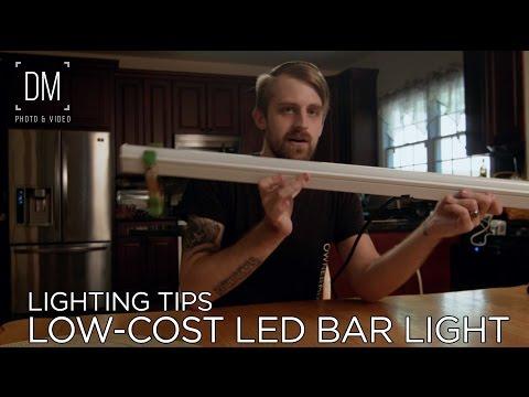 Lighting Tips: Affordable LED Bar Light