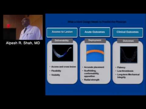 Coronary Stent Design: The Backbone of Interventional Cardiology (Alpesh R. Shah) May 19, 2016