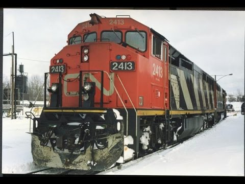 CN's Dash 8 locomotives