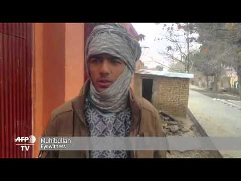 Gunfights Near India's Afghan Consulate