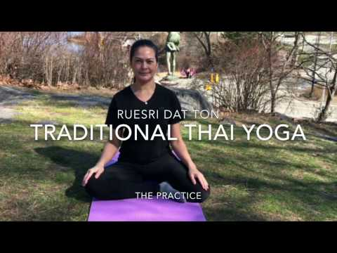 Thai yoga - founded by physician of the Buddha