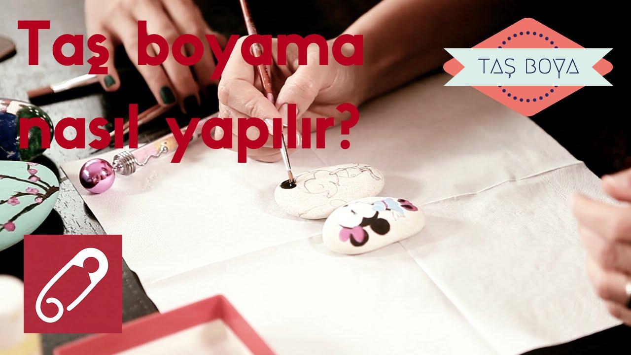 Tas Boyama Nasil Yapilir 10marifet Youtube