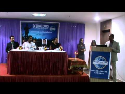 Miyapur Toastmasters Chartering Ceremony