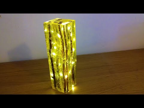 Epoxy Resin Night Lamp - Resin Art