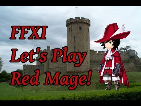 FFXI Let's Play Red Mage (Ep. #3 - Gusgen Mines Leveling)