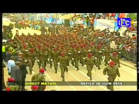 Indépendance de la RD Congo; Les Celebrations du 55e Anniversaire en Direct de Matadi