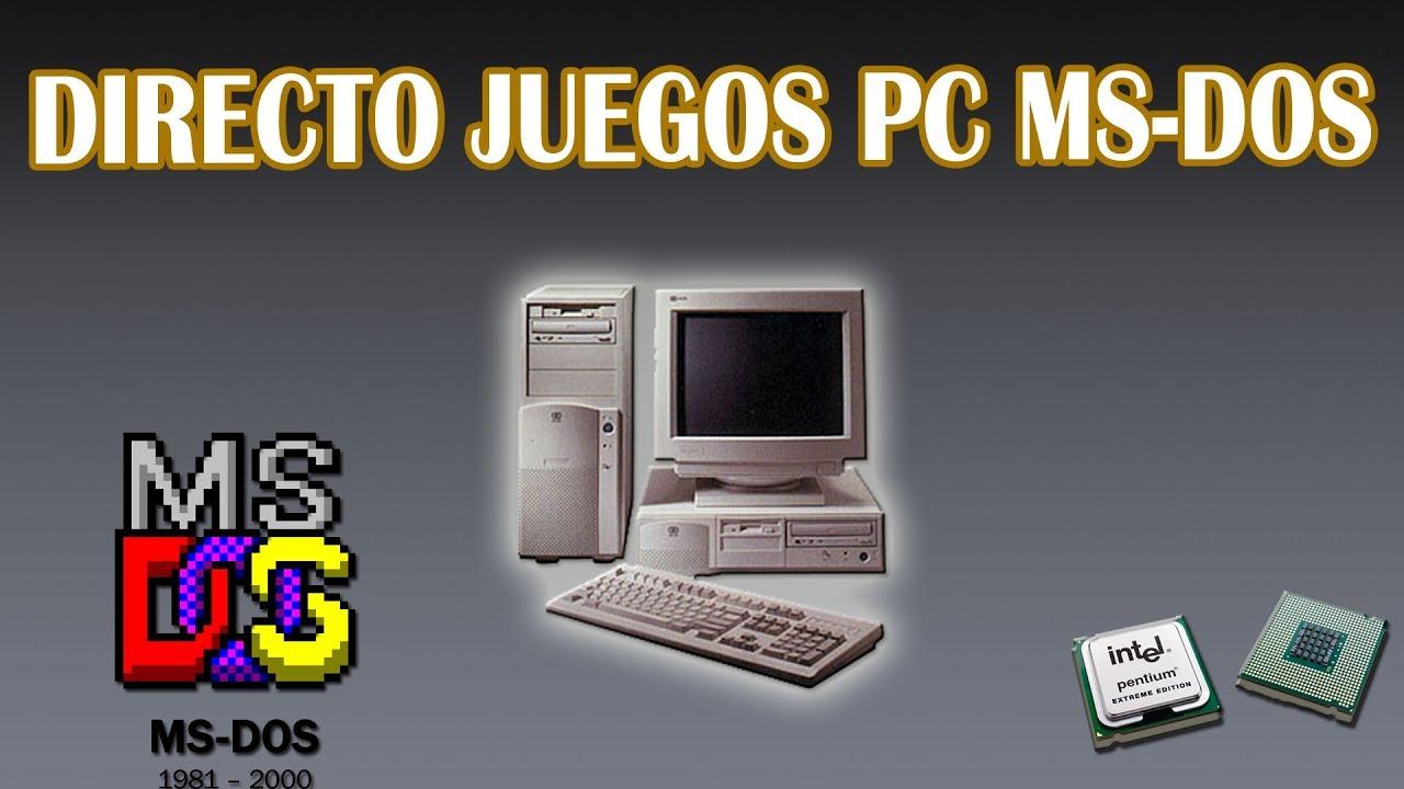Directo De Pc Juegos Ms Dos 2 Youtube