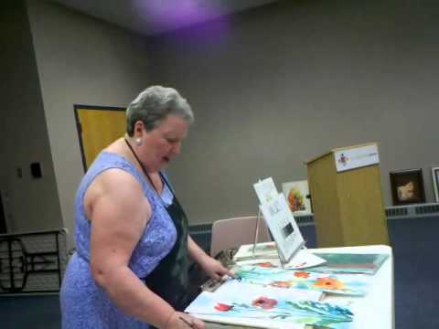 Watercolor Collage with Shirley Nachtrieb