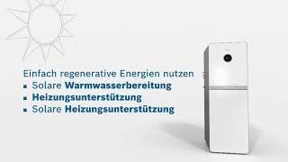 Condens 9000i WM - das revolutionäre Gas-Brennwertgerät als Modullösung von Bosch