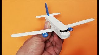 How to make a plane from popsicle sticks. Boeing 737