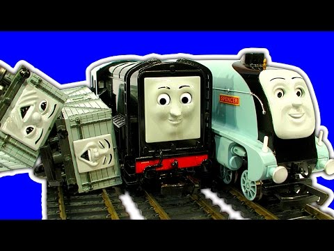 Thomas Bachmann Spencer Diesel Troublesome Trucks Trouble On The Tracks
