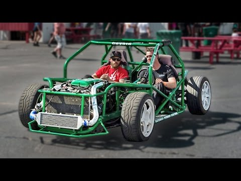 Nissan SR20DET Powered DRIFT KART!?