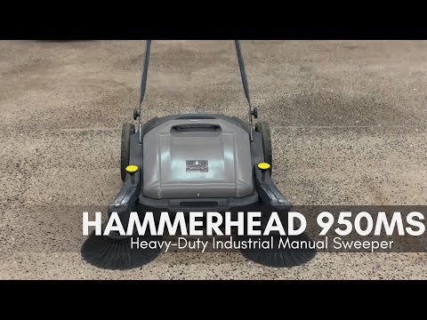 Hammerhead 950MS | Walk Behind Manual Sweeper | Bortek Indus