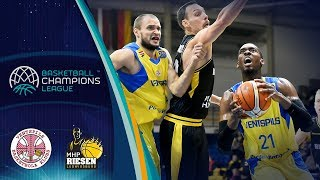 Ventspils v MHP RIESEN Ludwigsburg - Highlights - Basketball Champions League 2018-19
