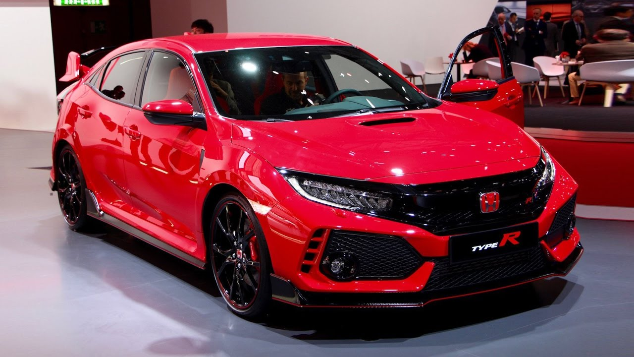2018 Honda Civic Type R First Look - 2017 Geneva Motor Show - YouTube