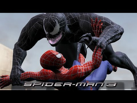 Spider-Man 3 | All Venom Scenes W/ Gameplay (2007)