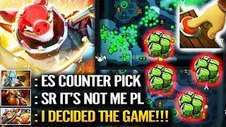 Techies jungle vs 5 Mele Hero - Easy Counter Pick Funny Dota 2 Gameplay
