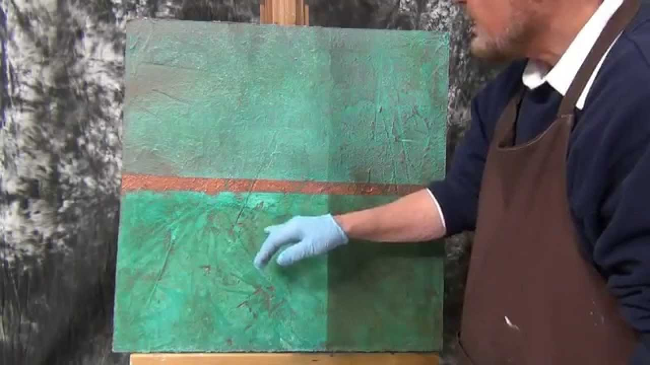 Metal Coating Application And Cold Patina Youtube