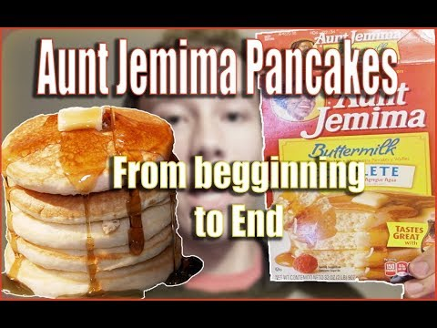 The Best Fluffy Aunt Jemima Pancakes How To Make From Beginning To