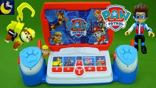 Paw Patrol Command Center Rescue Mission Save Baby Rubble Fireman Marshall Playset Toy Story Videos