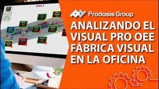 Analizando el Visual Pro OEE - Fábrica Visual en la Oficina