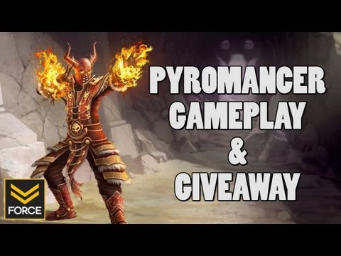 Forge Pyromancer Gameplay & Giveaway