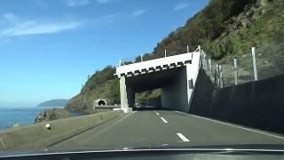 [車載動画2018-11-18]国道305号 越前海岸区間「加賀方面」