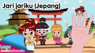 Jari Jariku (Finger Family Song) Versi Keluarga Jepang | Lagu Anak Indonesia