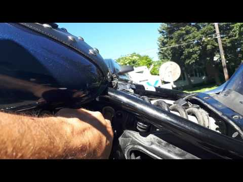 Repeat 07 Yamaha VStar 650 KJS single carb, stock exhaust by Anthony