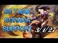 S8 Tank Soraka Support | When you cannot kill a Soraka