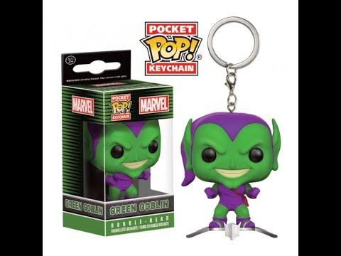 POP Keychain-Marvel-Green Goblin