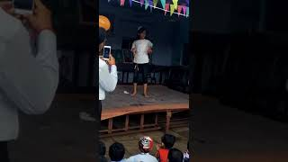 Sweet little girl dance on 15 august
