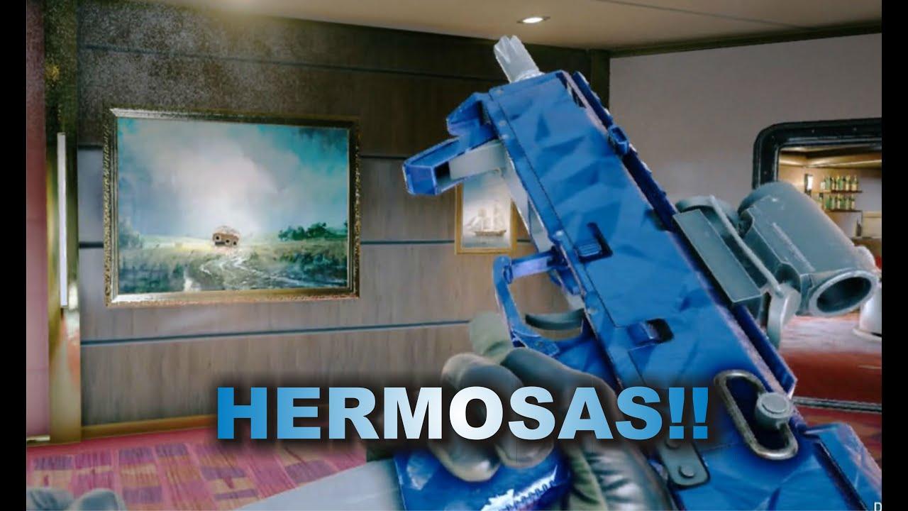 ARMAS DE COBALTO, QUE BONITO!!! RAINBOW SIX-SIEGE