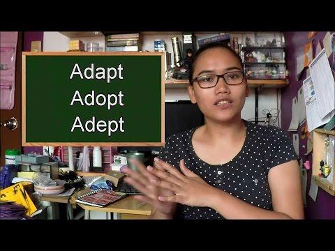 Homonym Horrors: Adapt, Adept, Adopt - Civil Service Exam Review