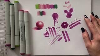 обзор маркеров COPIC от Ирины Шельменко